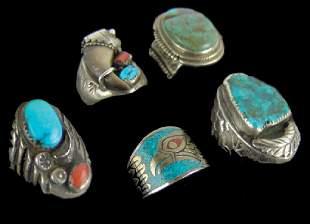 5 Navajo Rings