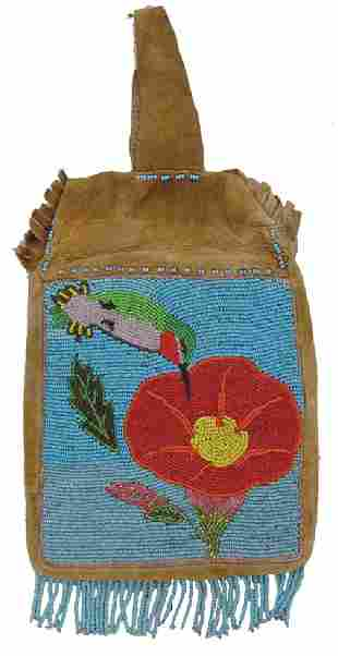 Plateau Beaded Bag