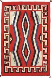 Historic Navajo Rug - J.B. Moore