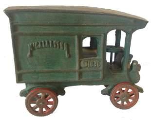 Cast Iron Toy Vehicle