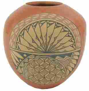 Jemez Pottery Jar Tosa