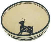 Mimbres Revival Pottery Bowl - David & Arlene