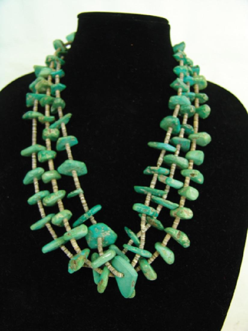Pueblo Turquoise Necklace - 2