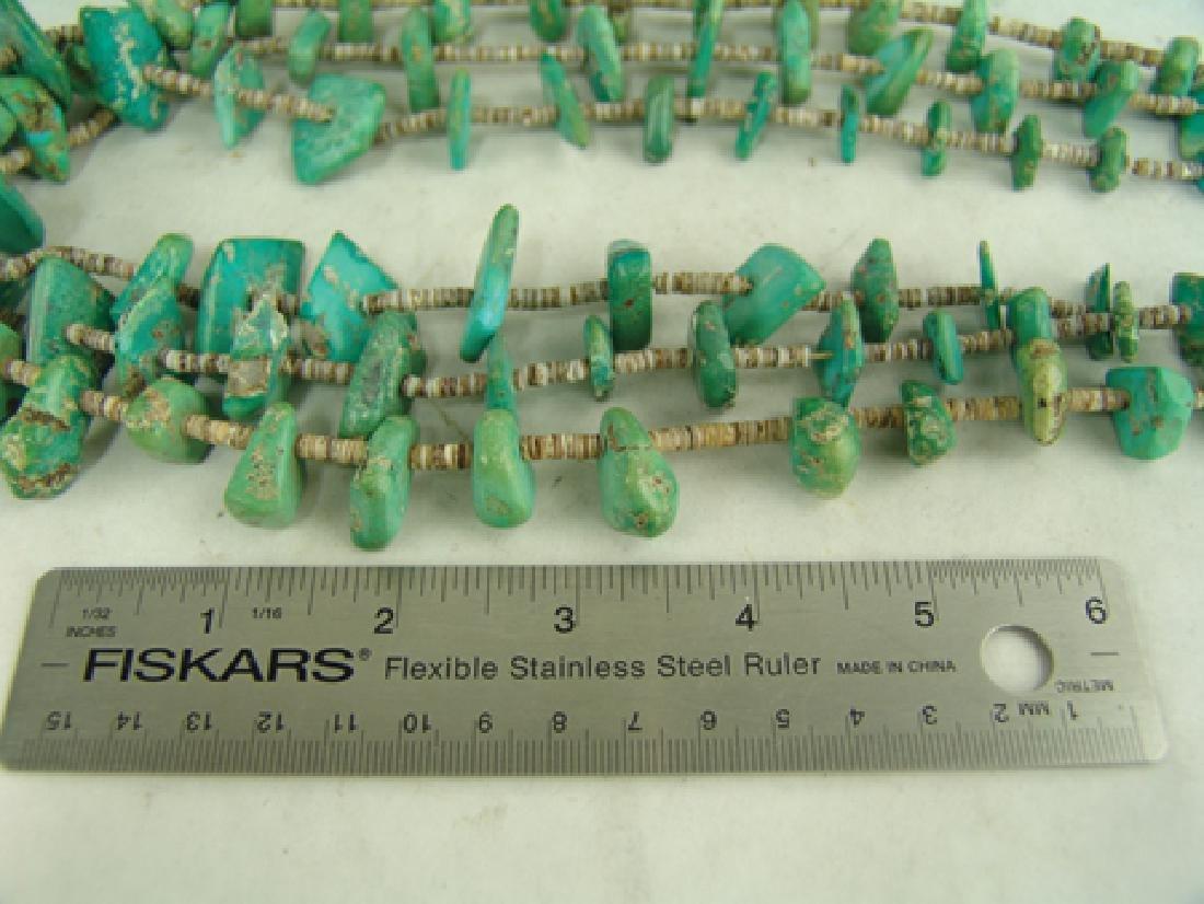 Pueblo Turquoise Necklace - 4