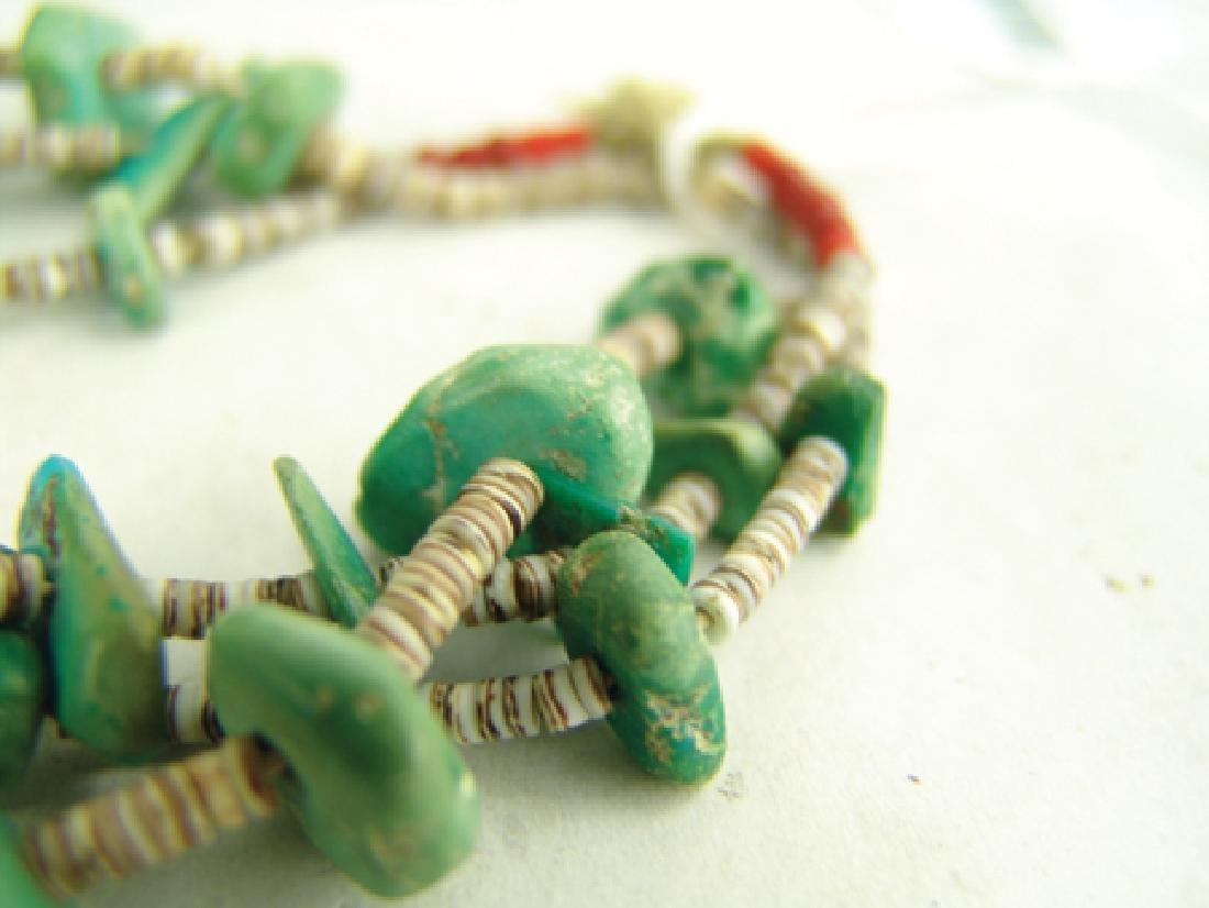 Pueblo Turquoise Necklace - 5