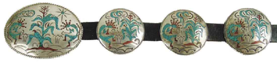 Navajo Concho Belt - Willie Singer
