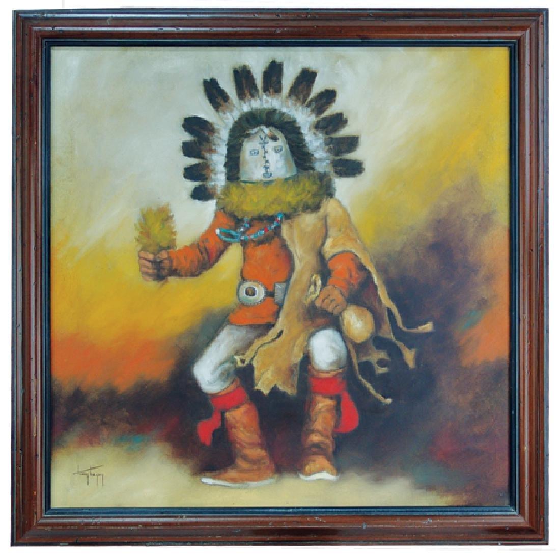 Tony Begay, Navajo (1941-1973)