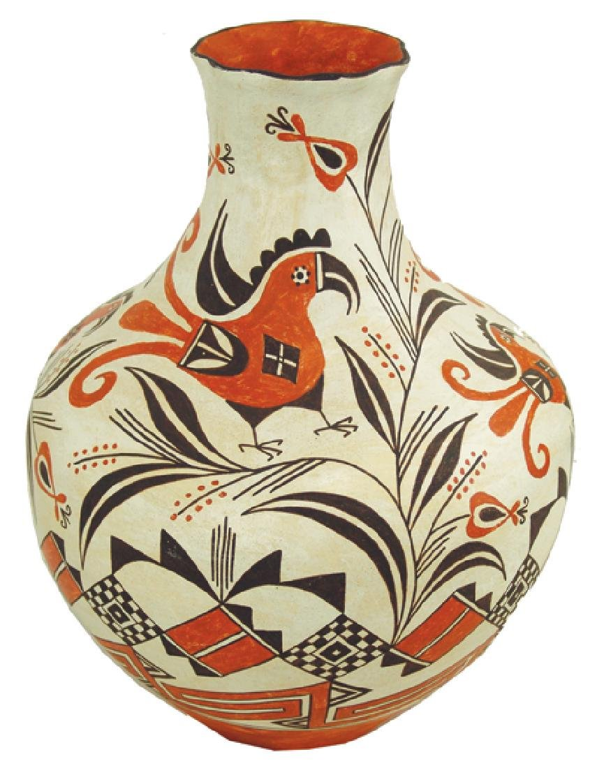 Acoma Pottery Jar - Virginia Lowden