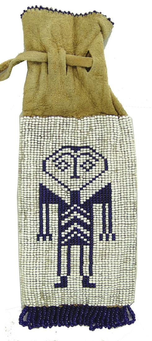 Wasco Beaded Bag