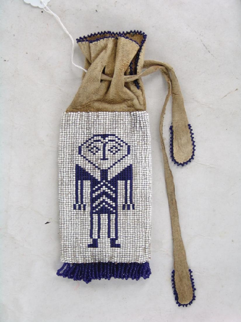 Wasco Beaded Bag - 3