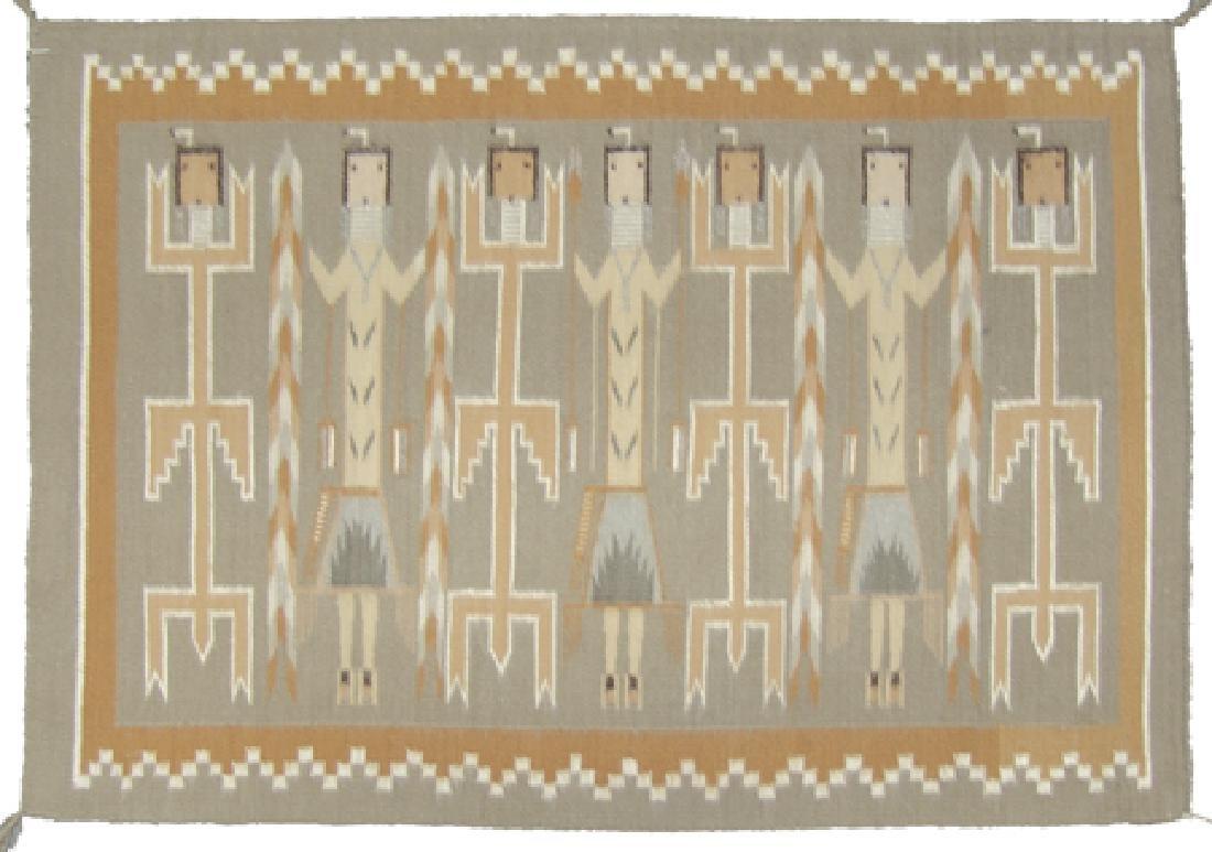 Navajo Rug/Weaving - Linn(?) Tsosie