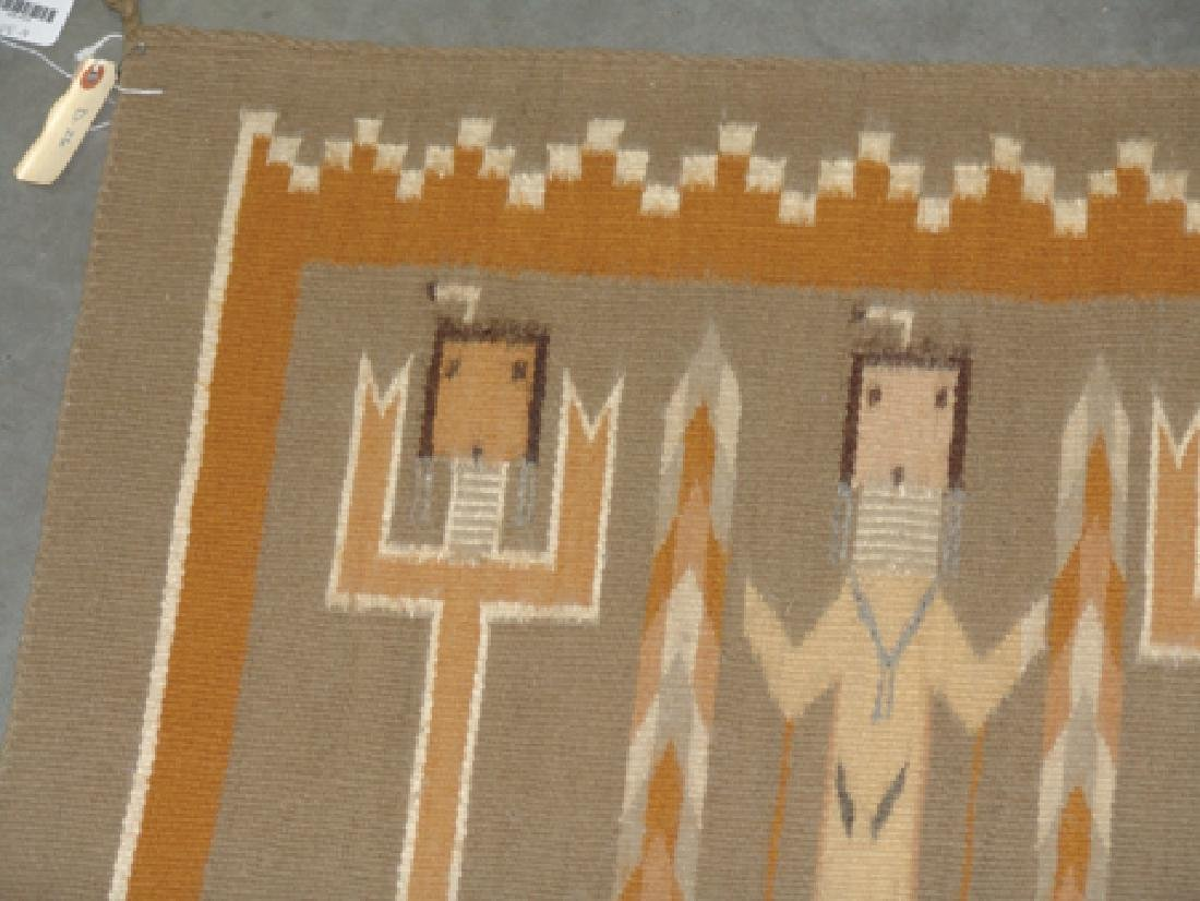 Navajo Rug/Weaving - Linn(?) Tsosie - 3