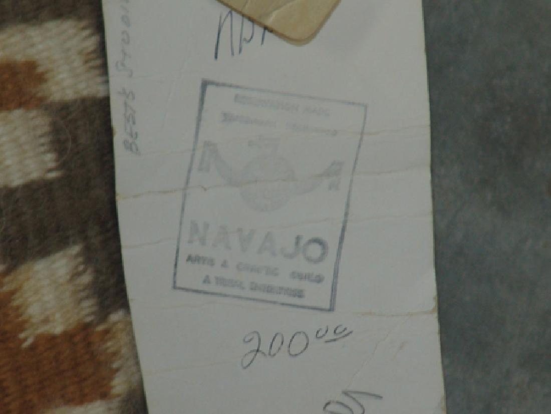 Navajo Rug/Weaving - Linn(?) Tsosie - 7