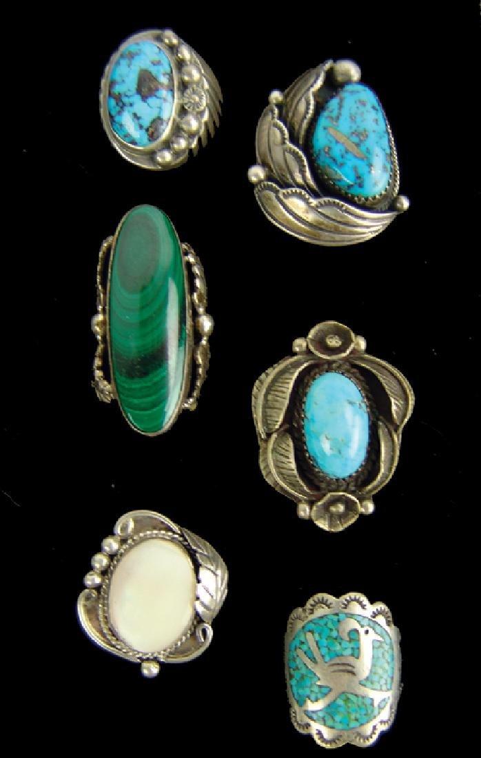 6 Navajo Rings