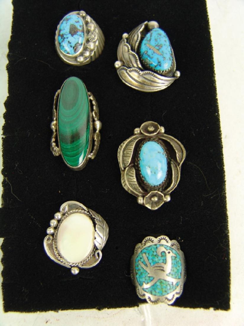 6 Navajo Rings - 2