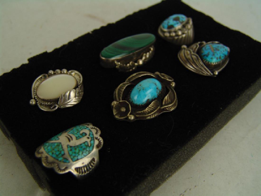 6 Navajo Rings - 3