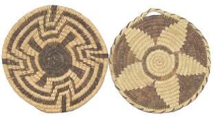 Papago Apache Baskets