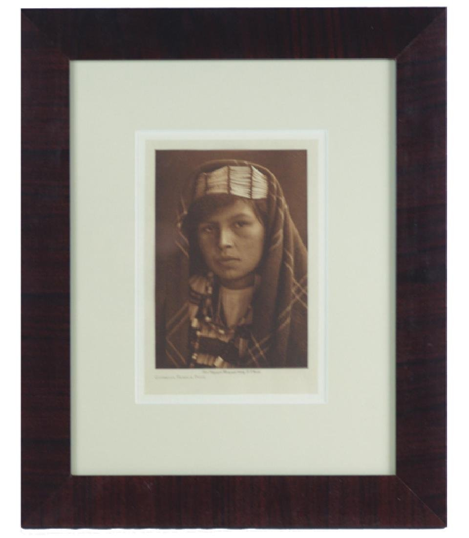 E.S. Curtis Photogravure