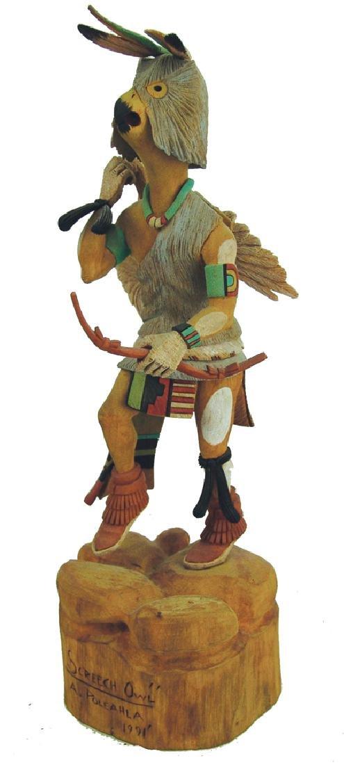 Hopi Kachina Carving - A. Poleahla
