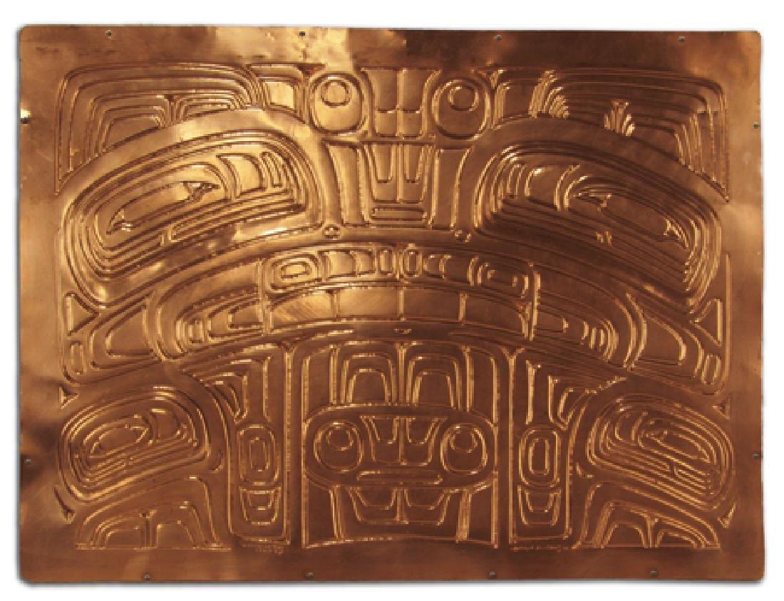 NW Coast Copper Panel - Joseph Ilig