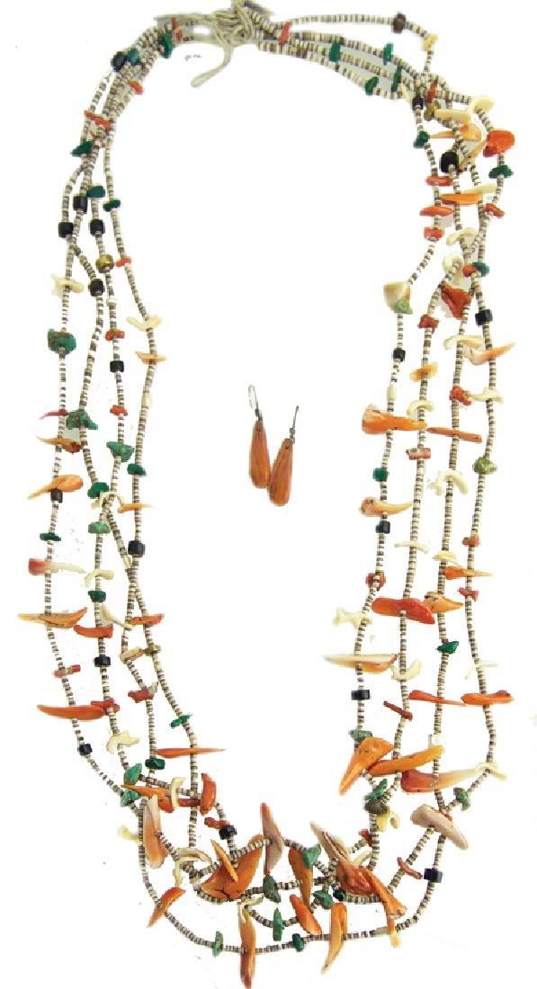 Pueblo Shell Necklace