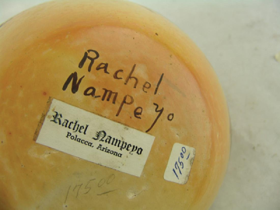 Hopi Pottery Jar - Rachel Nampeyo (1903-1985) - 10