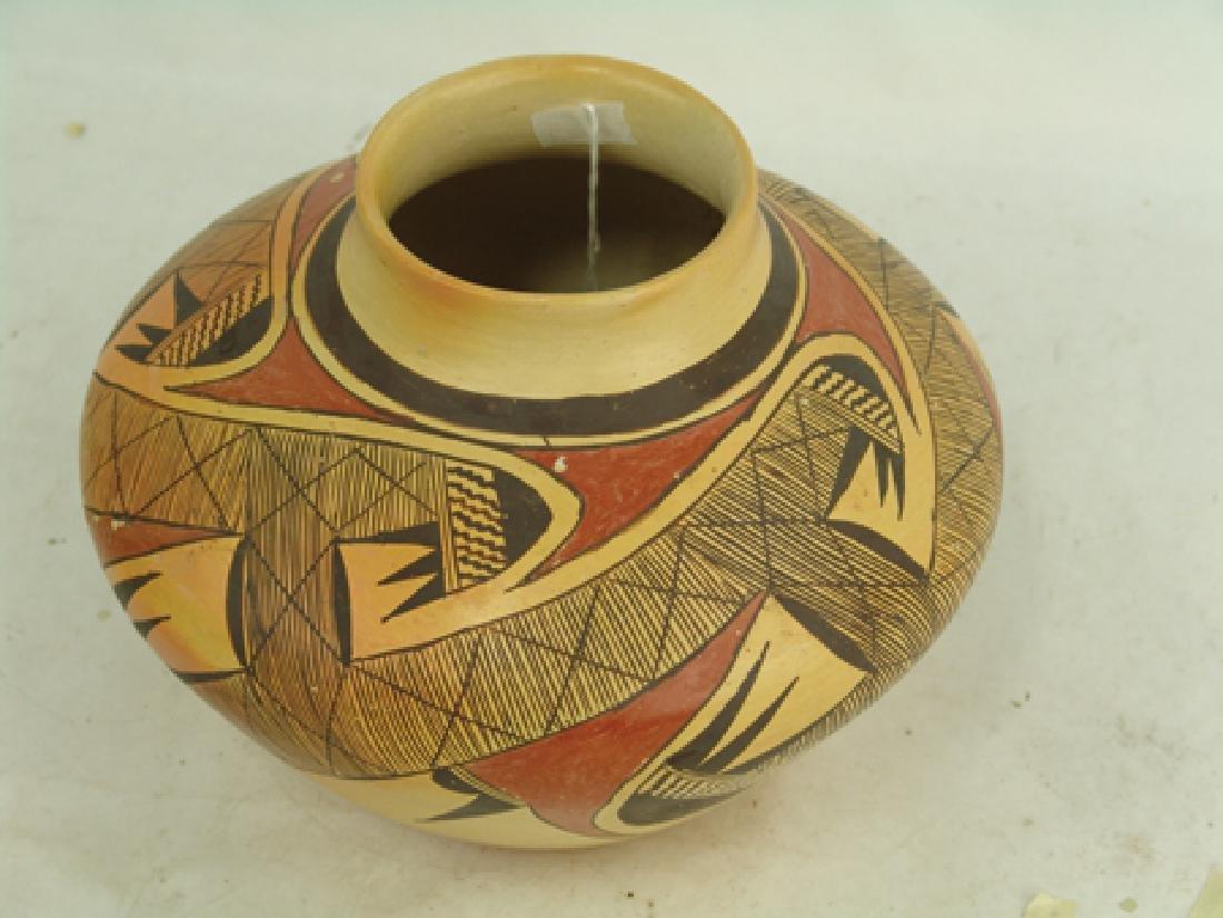 Hopi Pottery Jar - Rachel Nampeyo (1903-1985) - 4