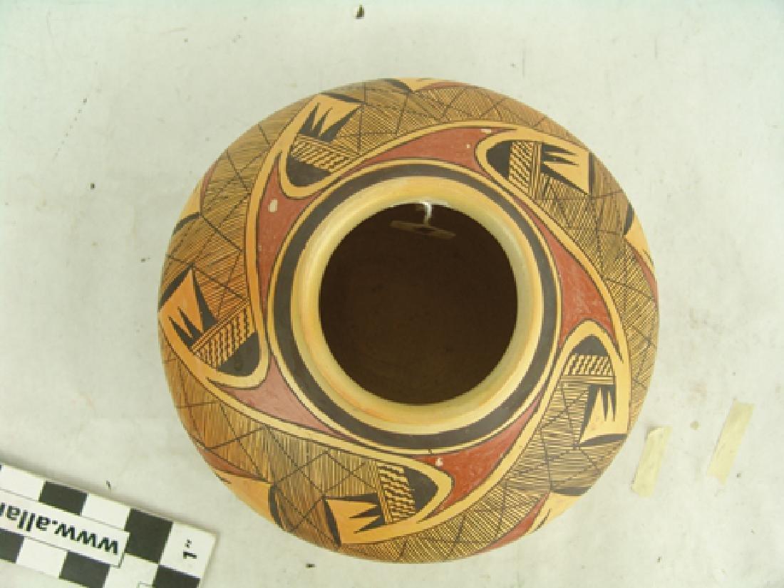 Hopi Pottery Jar - Rachel Nampeyo (1903-1985) - 5