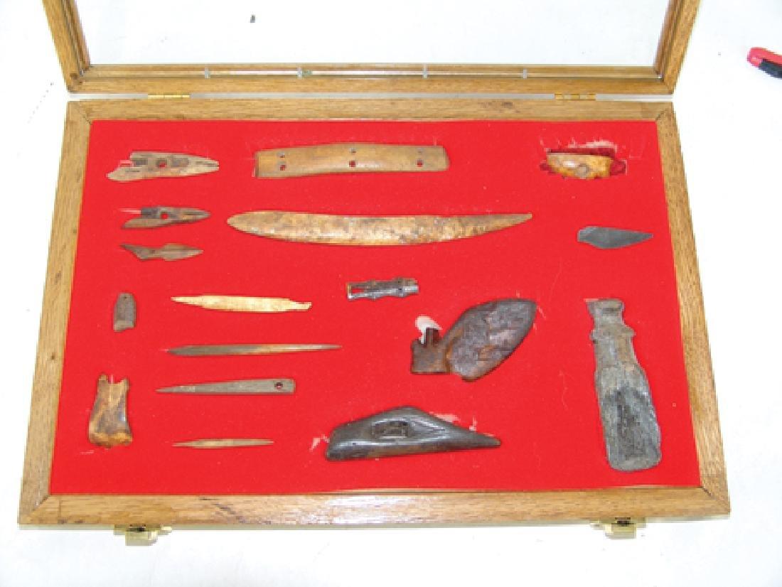 Eskimo Bone Relics - 2