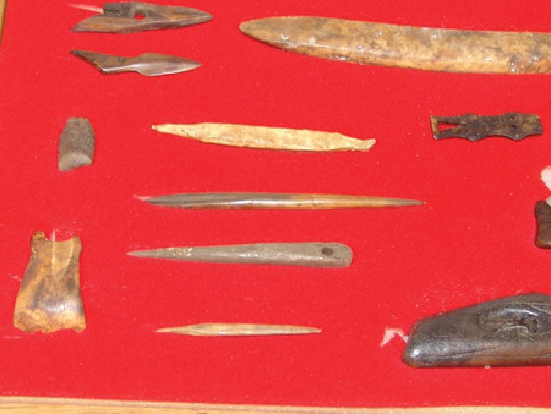 Eskimo Bone Relics - 7