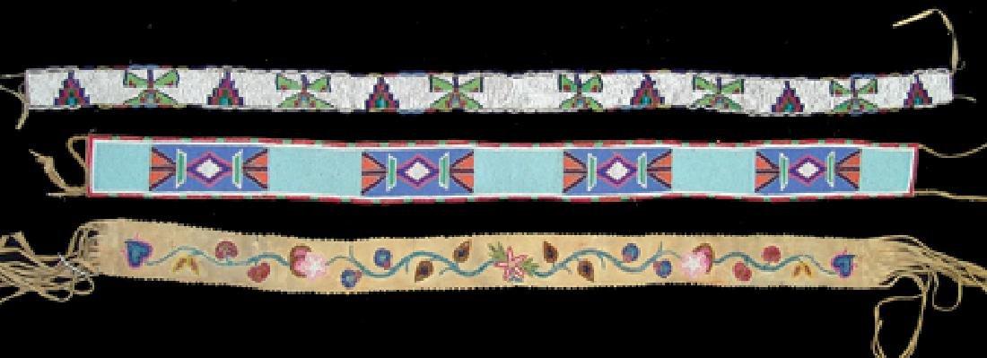 3 Beaded Belts