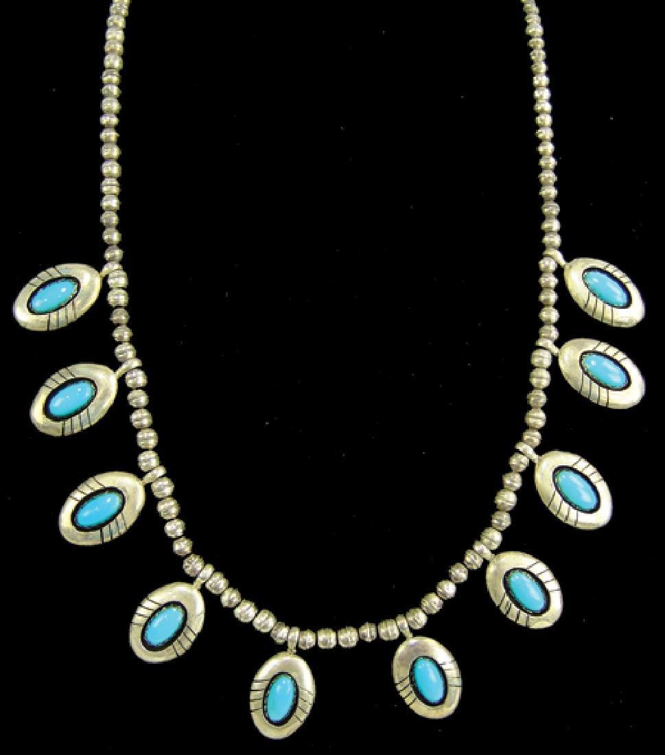 Navajo Necklace - Thompson Piaso