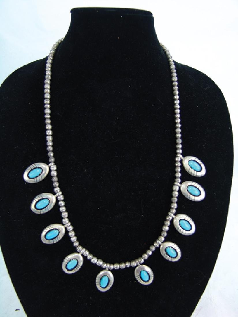Navajo Necklace - Thompson Piaso - 2