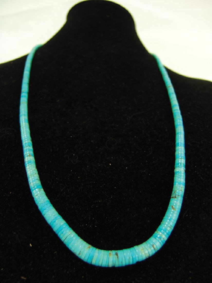 Pueblo Turquoise Necklace - 3