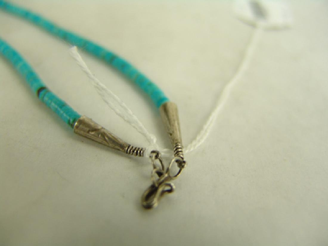 Pueblo Turquoise Necklace - 7