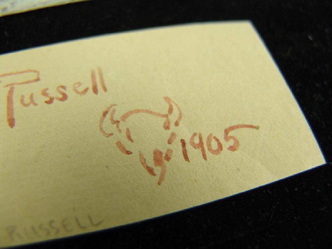 C.M. Russell Signature - 3