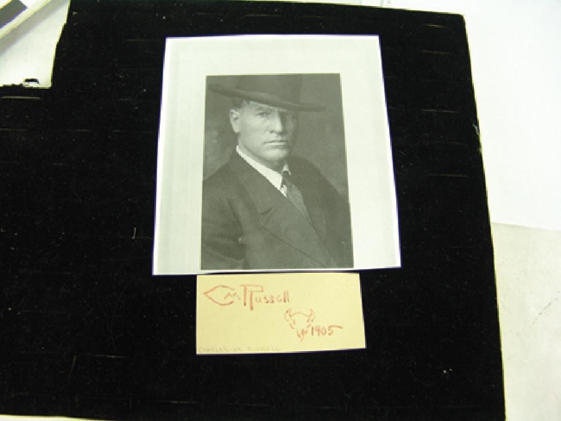 C.M. Russell Signature - 4