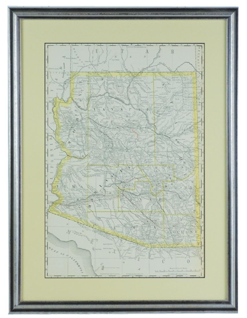 Historic Arizona Map