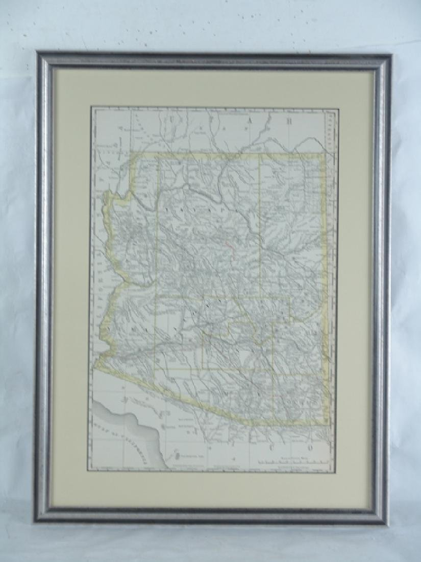 Historic Arizona Map - 2