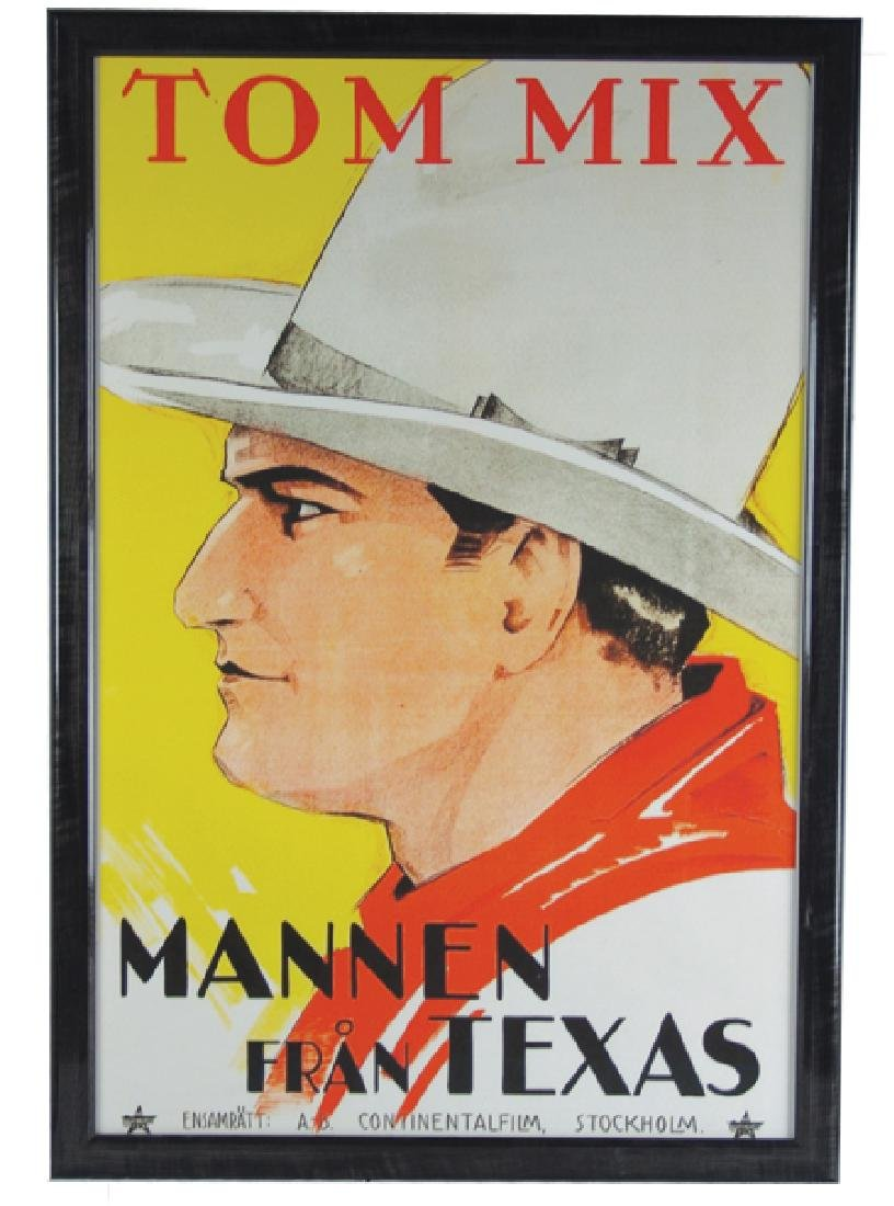 Tom Mix Movie Poster