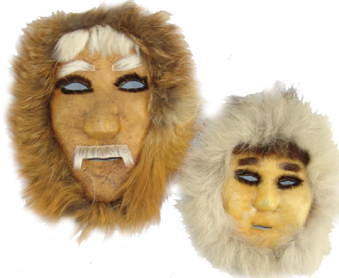 2 Eskimo Masks