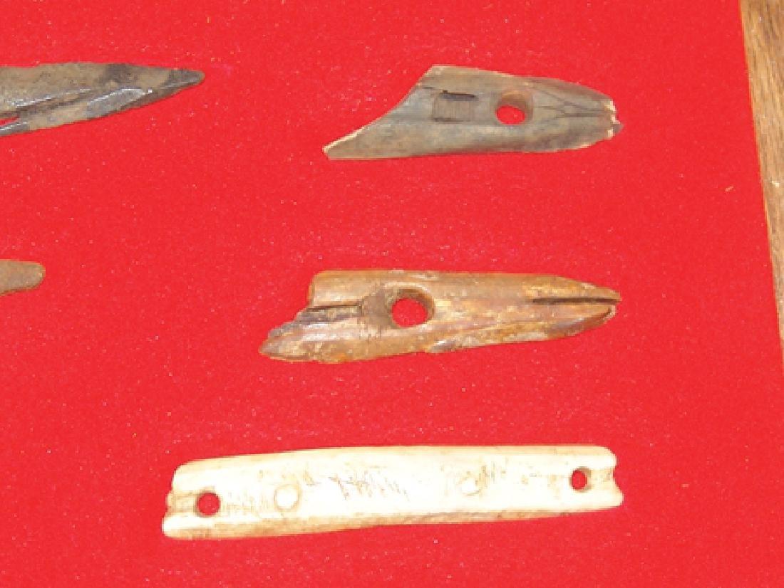 Eskimo Bone Relics - 3