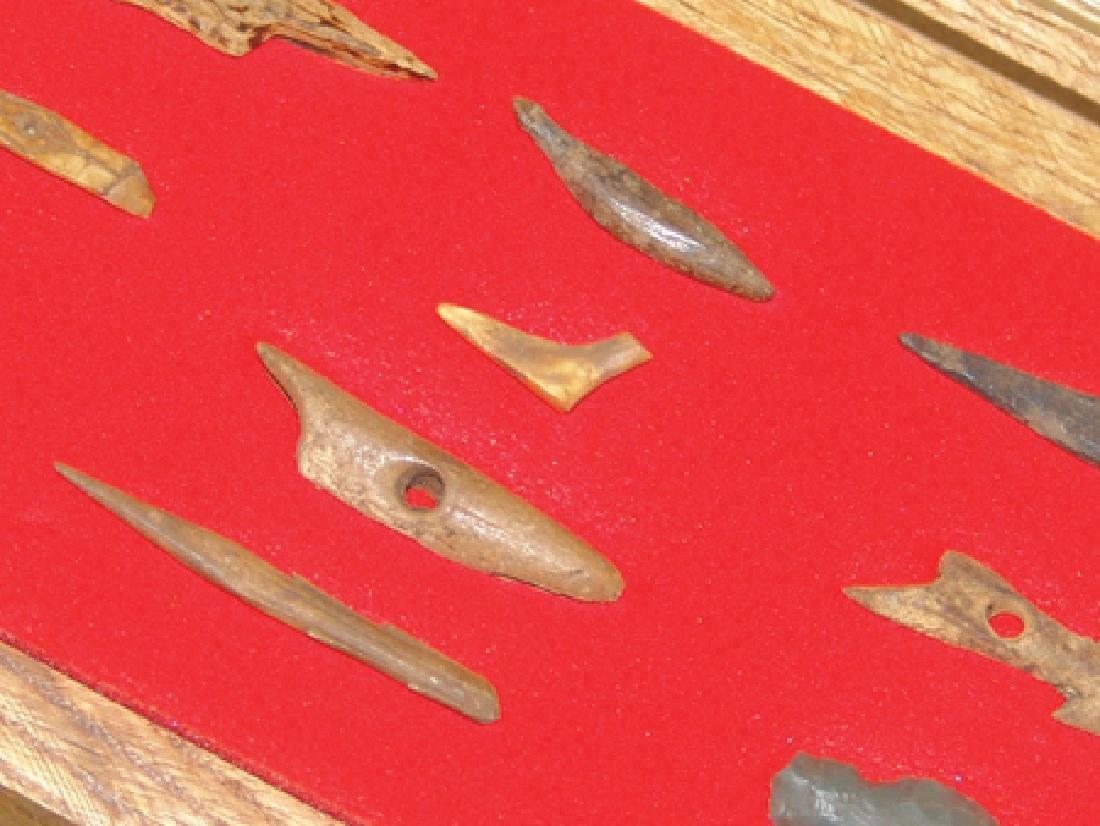 Eskimo Bone Relics - 5