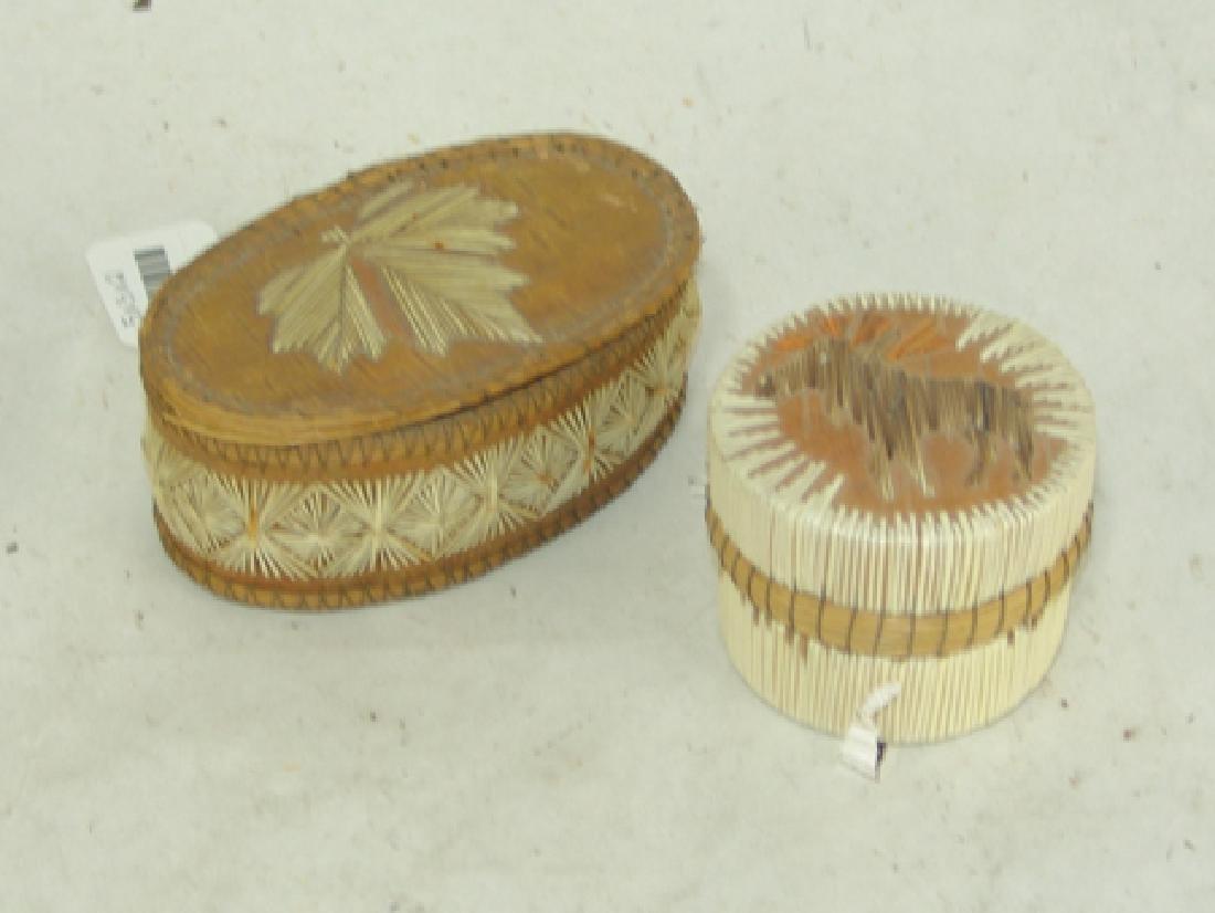 2 Iroquois Baskets - 2