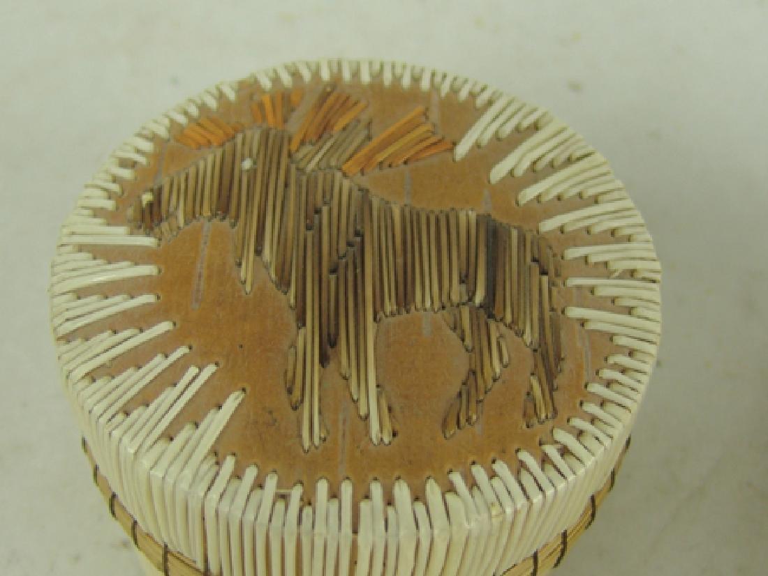 2 Iroquois Baskets - 4