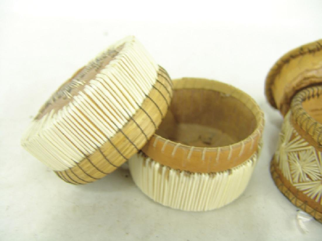 2 Iroquois Baskets - 8
