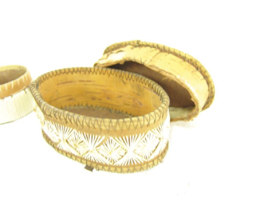 2 Iroquois Baskets - 9