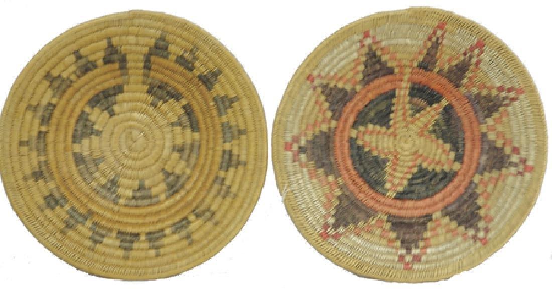 2 Navajo Baskets
