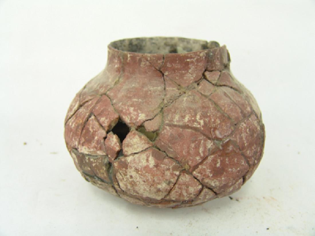 4 Anasazi Pottery Vessels - 16