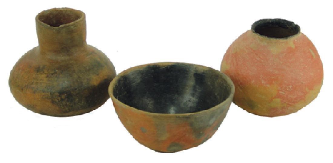 3 Hohokam Pottery Items
